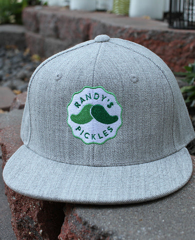 Gray Snap Back Hat