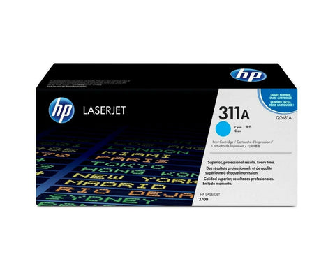 Brand New! Genuine HP Q2681A Cyan Toner Color Cartridge