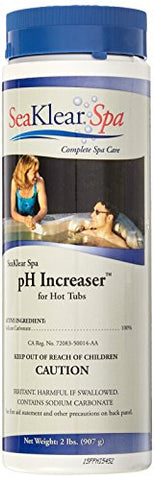 SeaKlear Spa pH Increaser for Hot Tubs, 2 lb