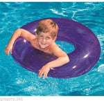"Swimline 9019SL 30"" Bright Color Swim Ring Pool Tube (assorted colors)"