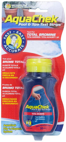 AquaChek Total Bromine Test Strips (50 count)