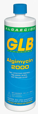 GLB Swimming Pool Algimycin 2000 Algaecide 1 qt. Bottle