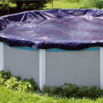 Swimline PCO834 30 Foot Round Above Ground Winter Swimming Pool Cover, Blue