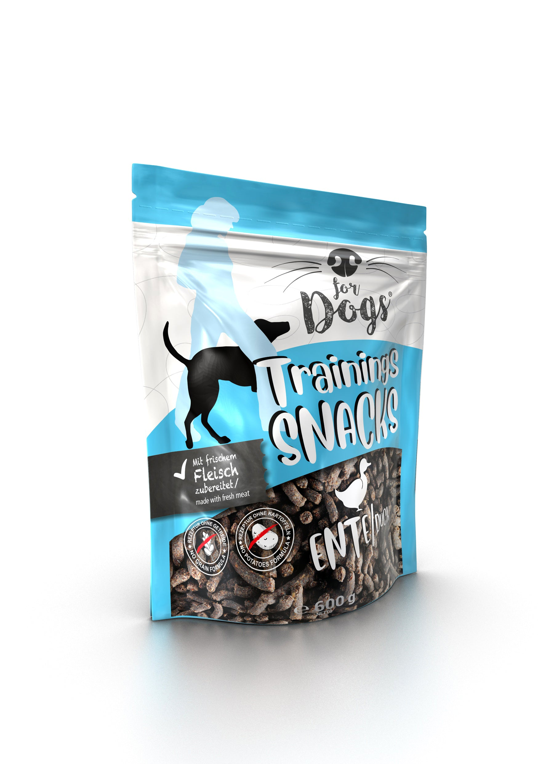 for Dogs Trainigssnack Ente