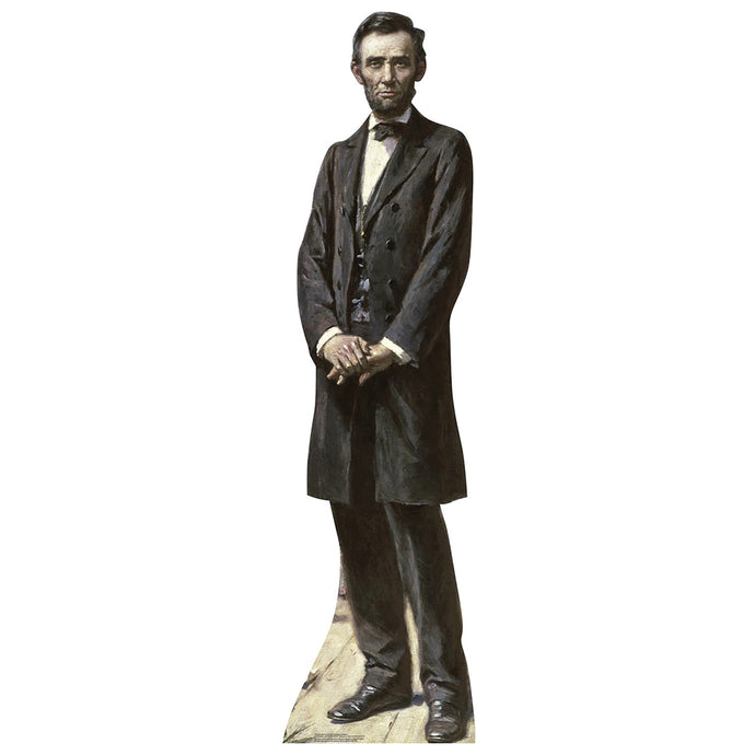 President Lincoln The Gettysburg Address Standee