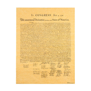 Product image of Declaration of Independence standee