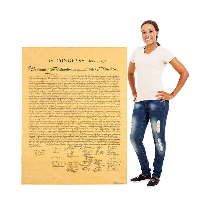 Declaration of Independence Five-Foot Tall Standee
