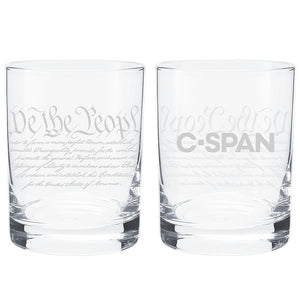 C-SPAN Constitution Whiskey Glass