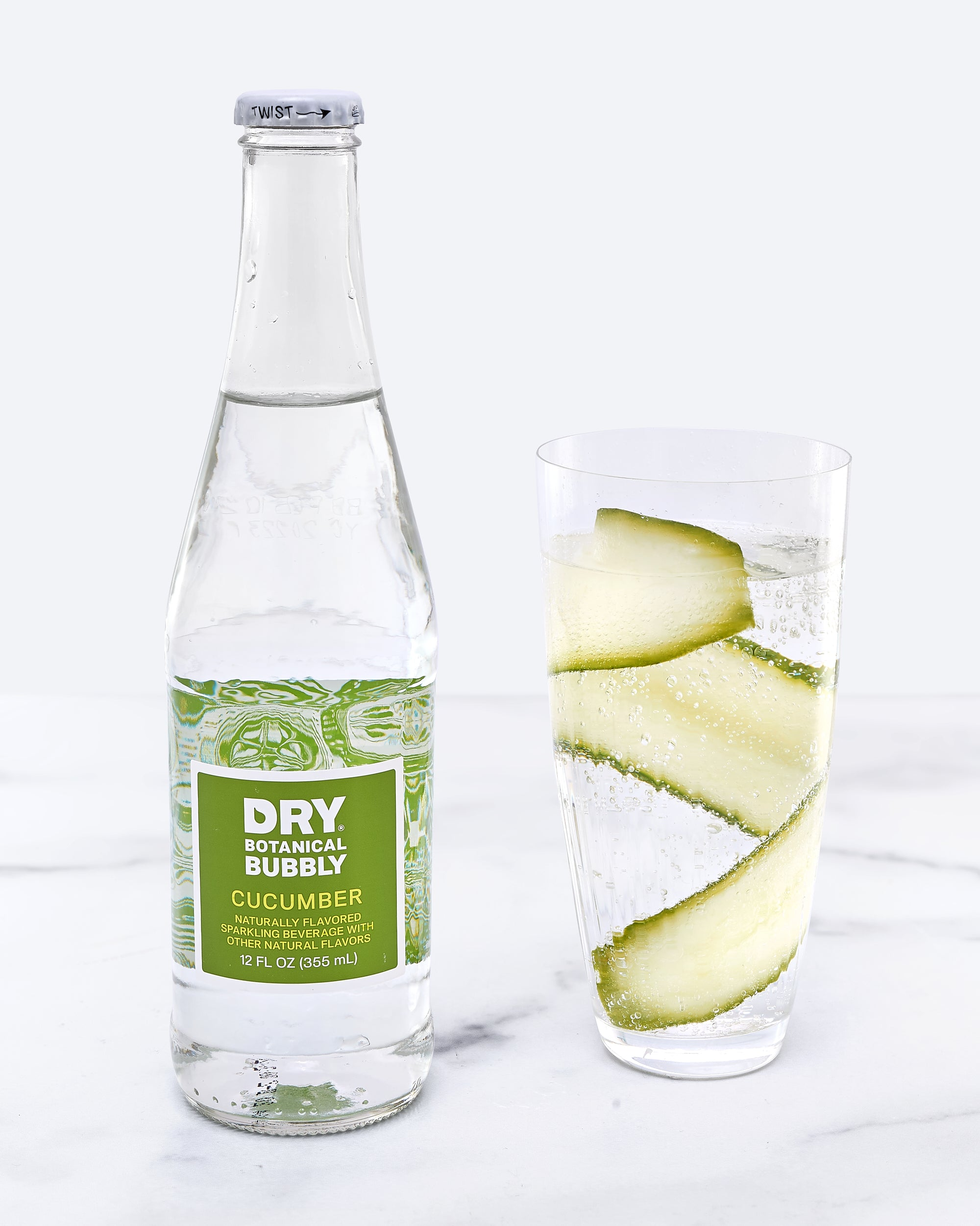 DRY Cucumber Botanical Bubbly (12 Pack)