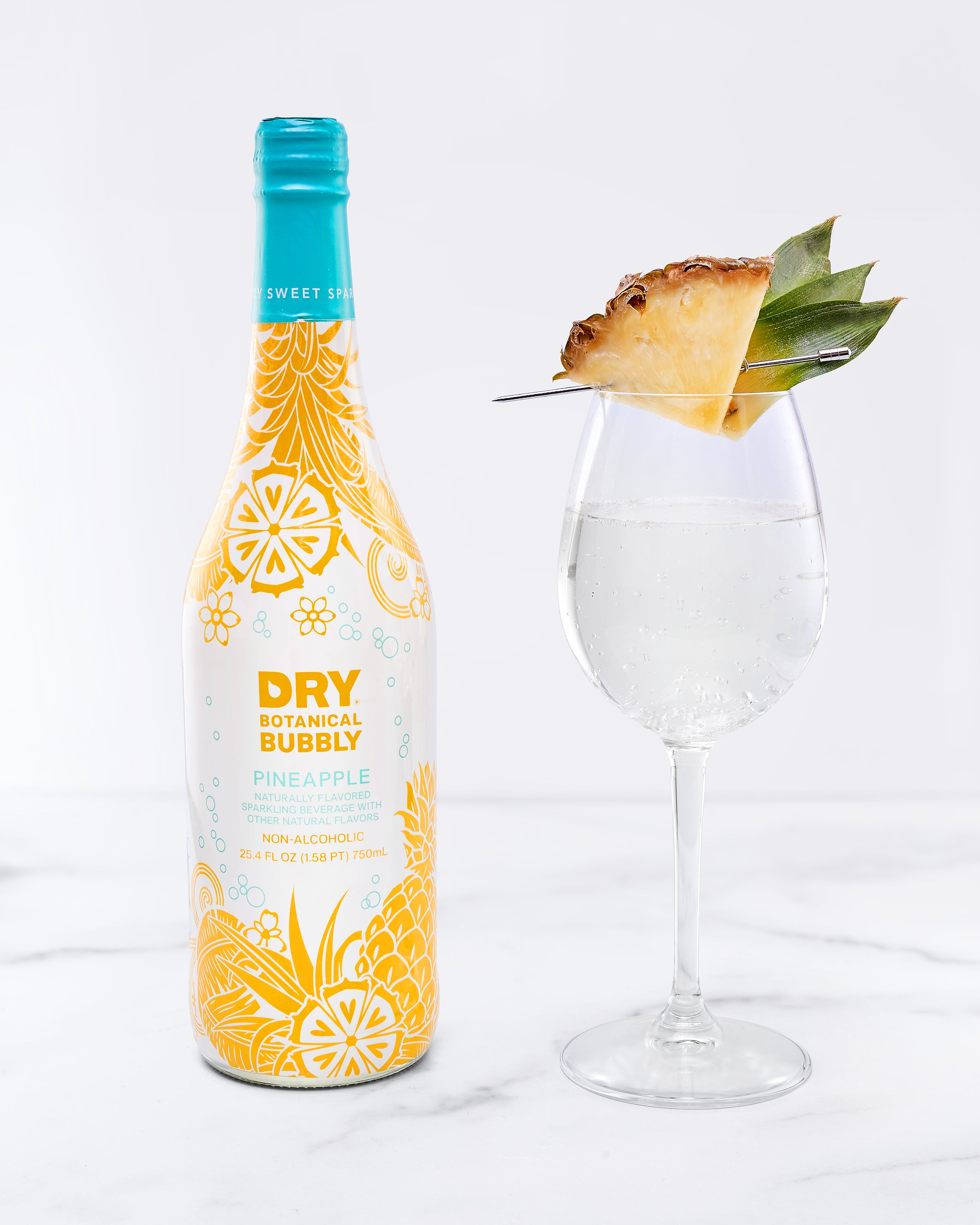 DRY Pineapple Botanical Bubbly (4 Pack)