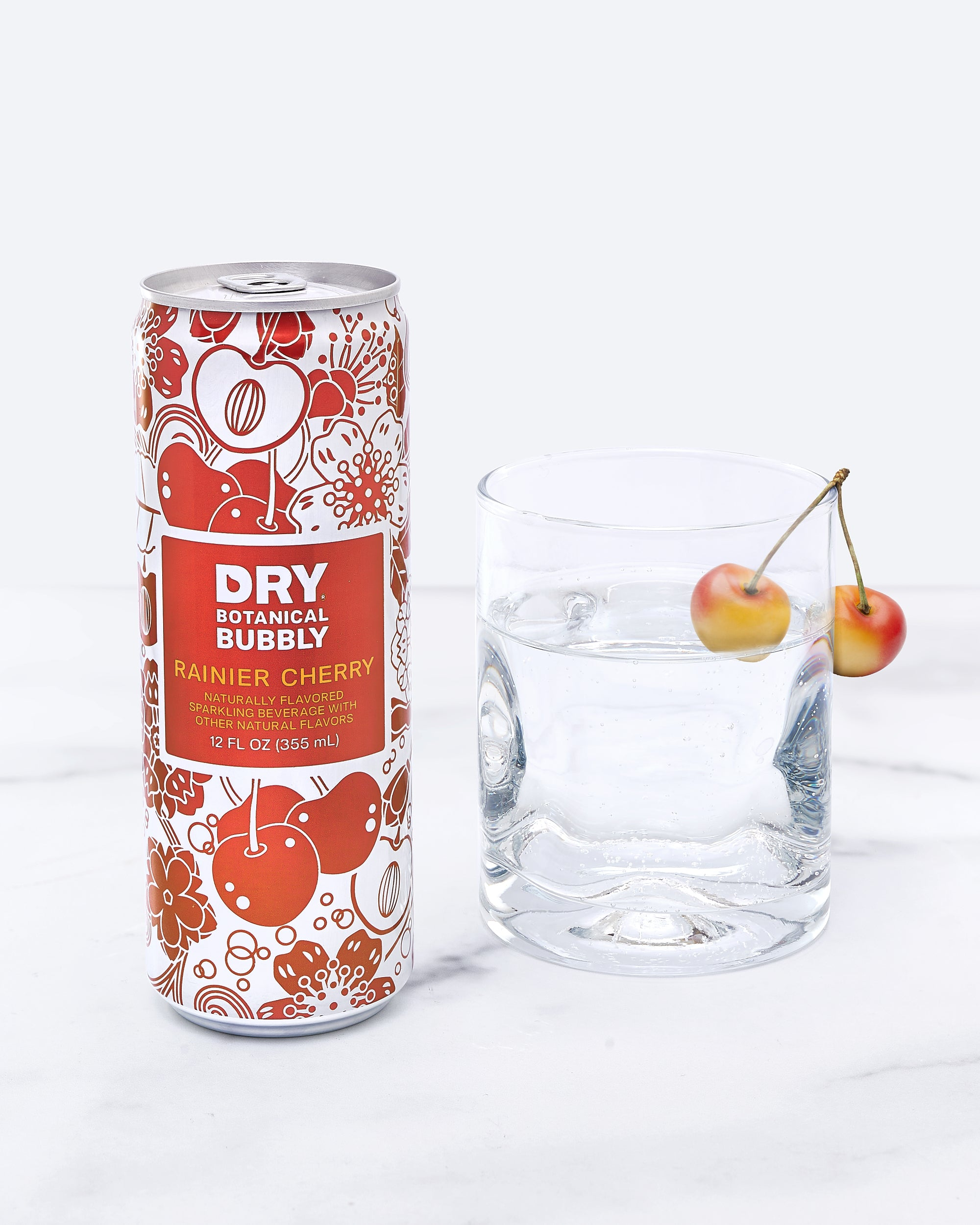 DRY Rainier Cherry Botanical Bubbly (12 Pack)