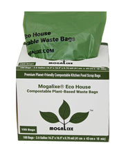 Load image into Gallery viewer, Biodegradable & Compostable Kitchen Bags - 2.6-3 gal, 100 bags