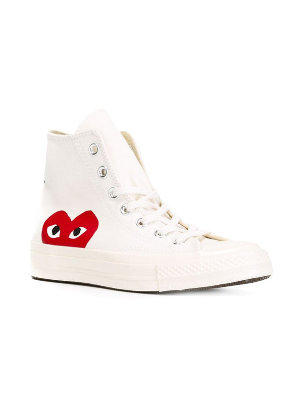 Converse High 'Chuck Taylor' Sneakers - White