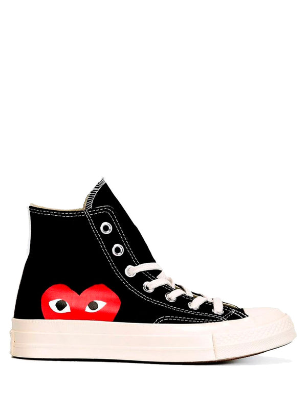 Converse High 'Chuck Taylor' Sneakers - Black