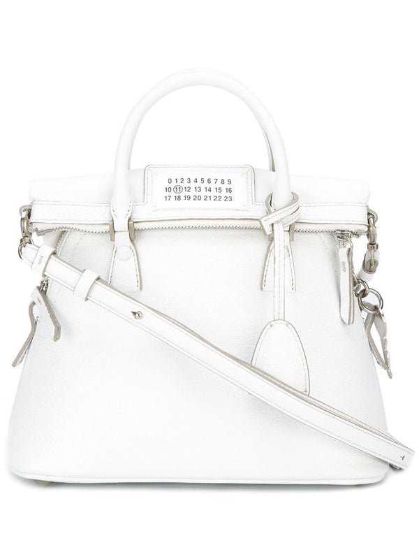 5AC Leather Bag - White