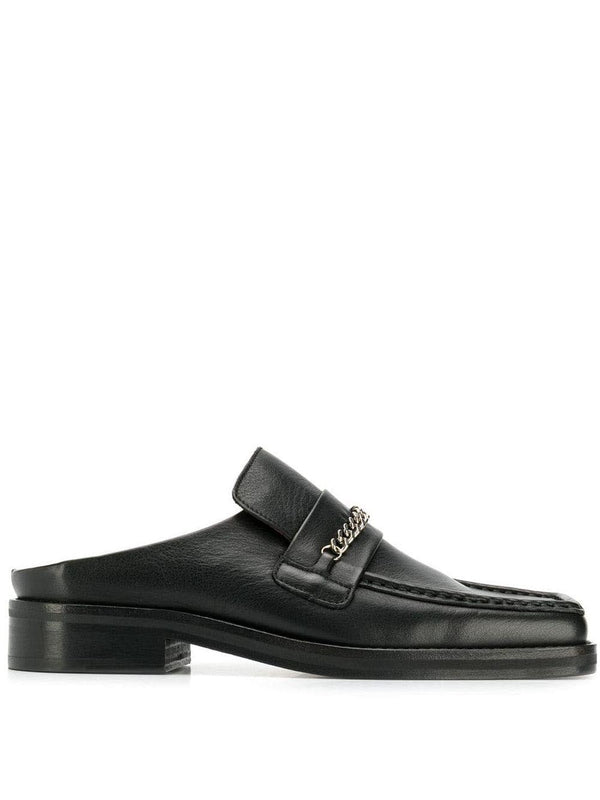 open back loafers