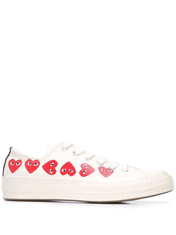 Converse Multi Heart 1970s Low-Top - Off White
