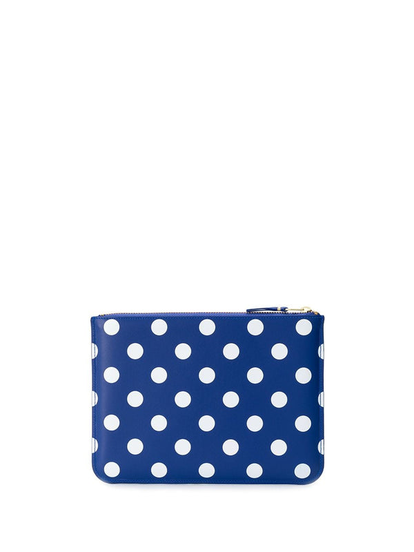 SA5100PD Wallet - Printed Polka Dot Navy