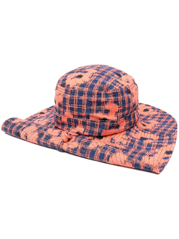 FAST SAFARI HAT IN ORANGE BLUE