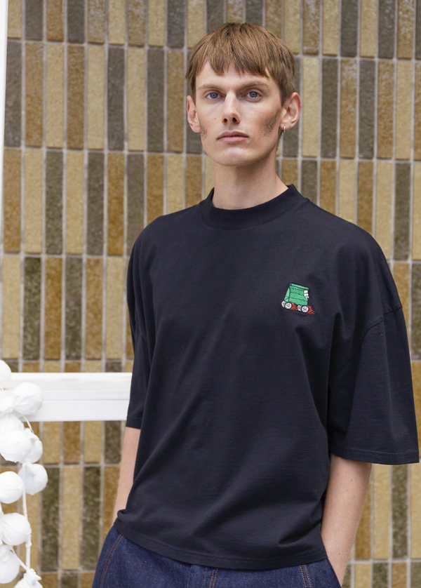 HORSEPOWER TAKEAWAY TEE - BLACK