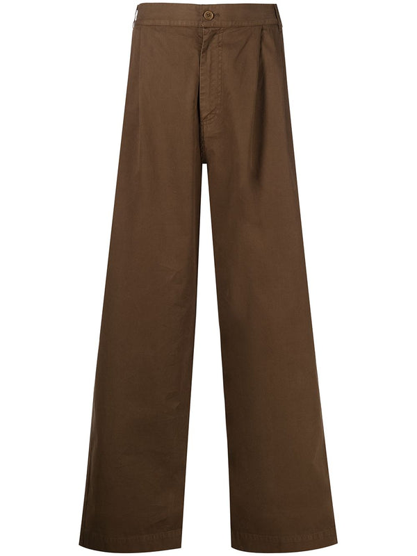 NEW TANOI TROUSERS SS21-M515 DARK EARTH L