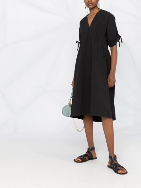 Minute Dress - Garment Dye Black