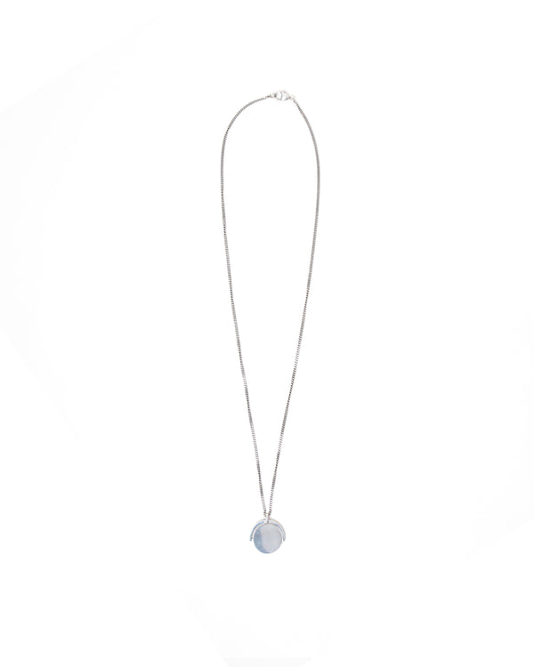 I.O-01 Pendant Necklace - Silver