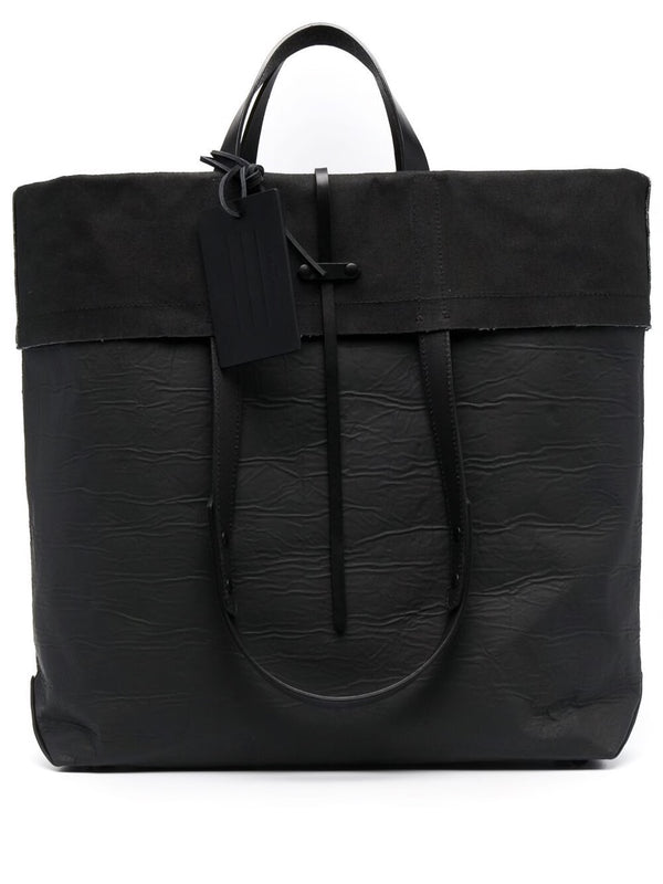 Folded SHOPPING BAG - Black