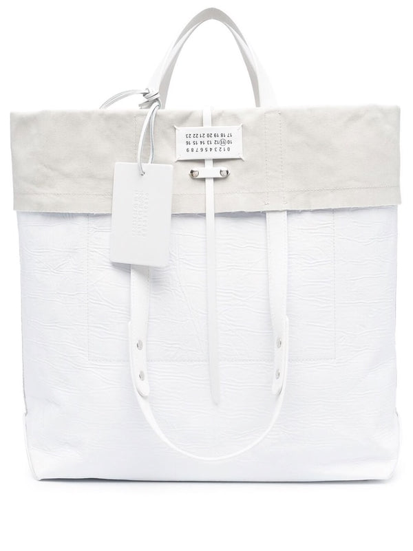 Folded SHOPPING BAG - White