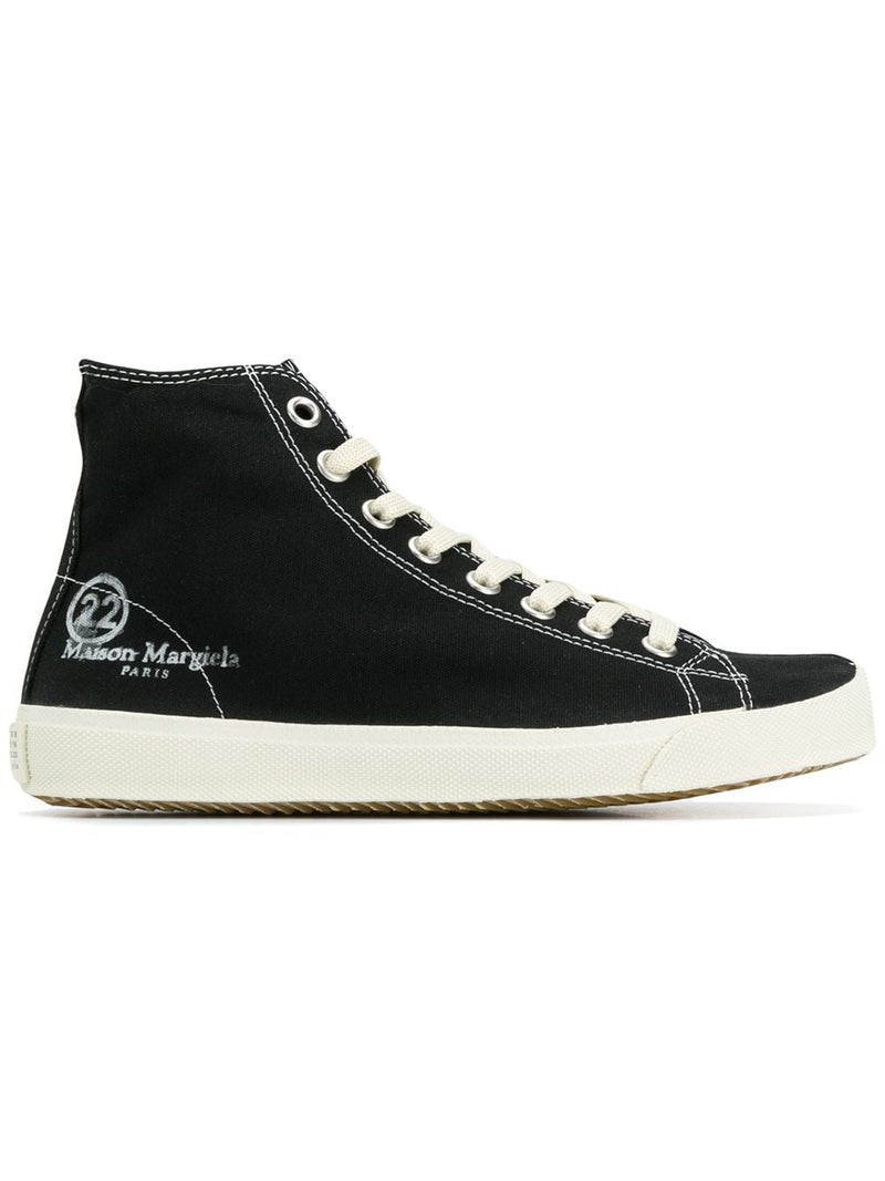 Tabi Hi-Top Trainers - Black