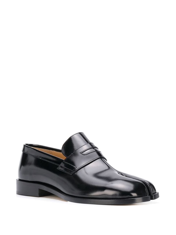 Tabi Penny Loafers - Black