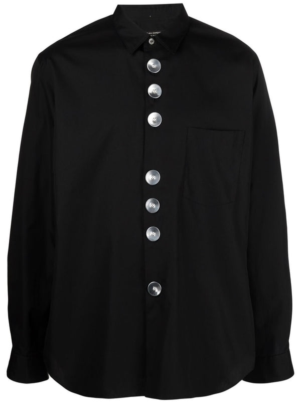 HOMME PLUS SHIRT IN BLACK