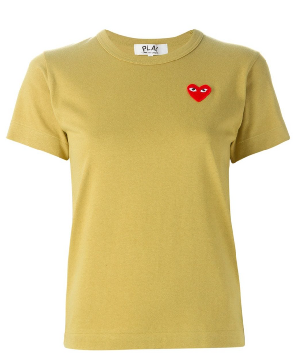 Short Sleeve Tee Red Heart - Olive