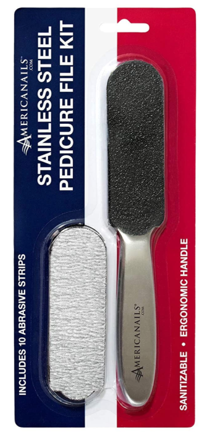 Pedicure File Kit- Stainless Steel