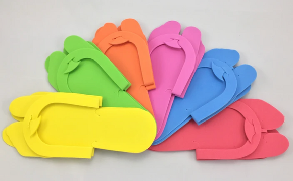 Pedicure Slippers- 12 pack