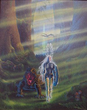 Original Cover Art to the book