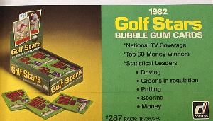1982 Donruss Golf Stars Promo Advertisement