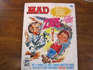 MAD MAG. COMIC ORIGINAL - MAD ZAPS THE HUMAN RACE