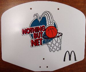 Complete Basketball Hoop from McDonald's