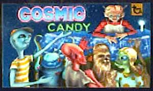 Original artwork to Cosmic Candy