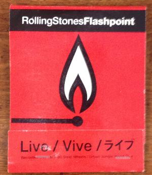 Rolling Stones Unused large Matchbook