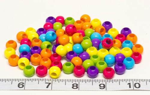 Bright Plastic Beads