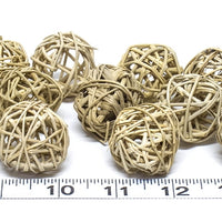 "1.25"" Vine Balls bird toy parts"