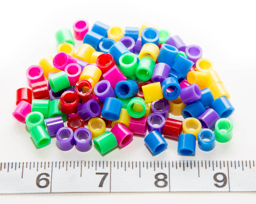 Plastic Licorice Beads