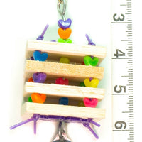 Balsa Stack Bird Toy