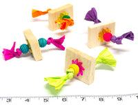 Balsa Talon Taffy by Cheep Thrills Bird Toys