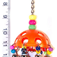Bell Carousel bird toy