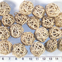 2 inch Vine Balls bird toy parts