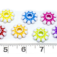 Daisy Wheel Beads