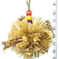 Crunchy Hedgehog bird toy